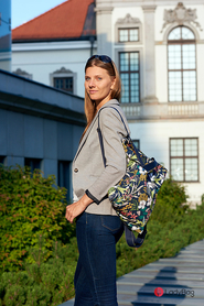 158098748019 09 11 LadyBag 117.jpg Lady Active Two-in-One plecak L softshell tropical leaves